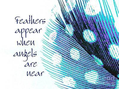 Feathers Appear Art Print