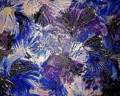 Painting - Feathers In The Wind by Monique's Fine Art