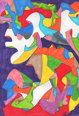February Eleventh Art Print by Ellen Howell