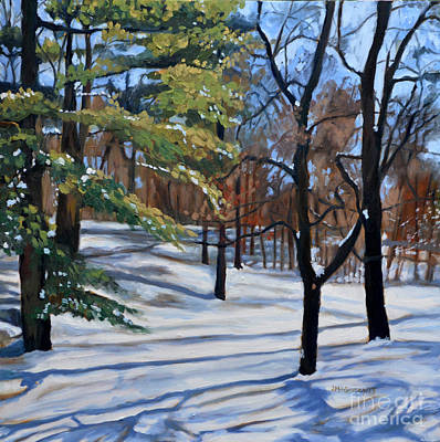 Painting - February by Joan McGivney