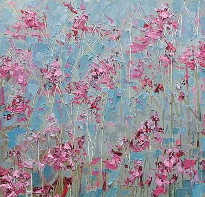 Cherry Blossoms Painting - February Spring by Ann Marie Coolick