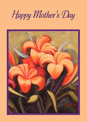 Painting - Fechin Lilies by Ruth Soller