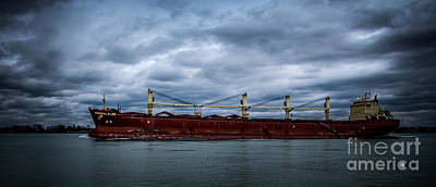 Photograph - Federal Elbe by Ronald Grogan