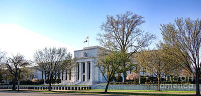 Federal Reserve Building Art Print by Olivier Le Queinec