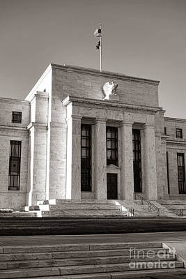 Photograph - Federal Reserve by Olivier Le Queinec