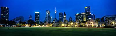 Federal Secretariat Kuala Lumpur Art Print by Panoramic Images