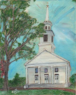 Federated Church Art Print