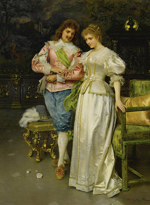 Betrothed Art Print by Federico Andreotti