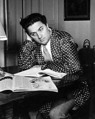 Fellini Photograph - Federico Fellini by Silver Screen