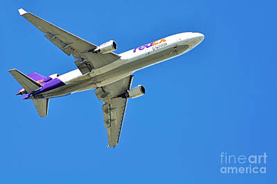 Photograph - Fedex At Work by Kaye Menner