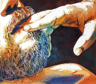 Feed Me Art Print by Michel Jutras