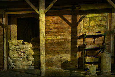 Feed Mill Store Art Print