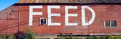 Feed Store, Newport, Wa, Usa Art Print by Panoramic Images