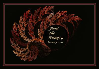 Feed The Hungry Art Print