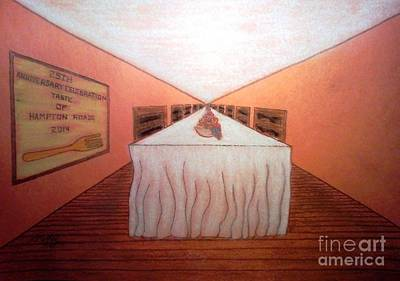 Pastel - Feed The World by Neil Stuart Coffey