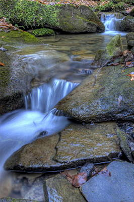 Photograph - Feeder Creek Nature Scene by David Dufresne