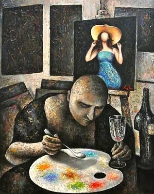 Painting - Feeding The Soul by Hayk Matsakyan