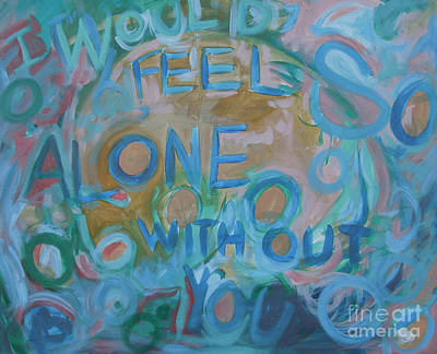 Feel One With You Art Print