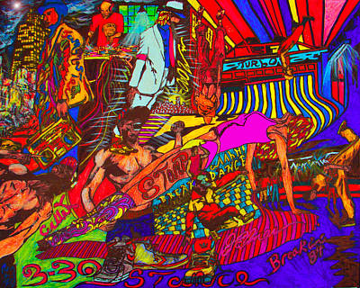 Twitter Mixed Media - Feel The Beat  Dance Era by The Artist JPalmer