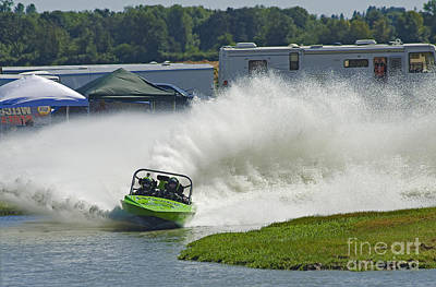 Speed Trials Photograph - Feel The Power by Nick  Boren