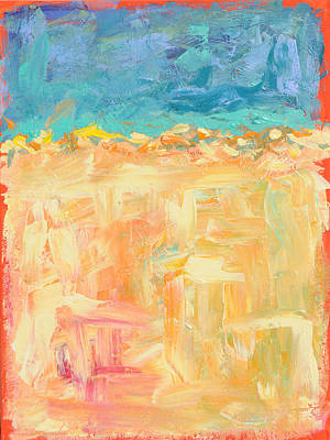 Painting - Feelin' Beachy by Paulette B Wright