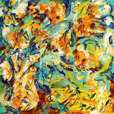 Feelin Fall Art Print by Carole Goldman
