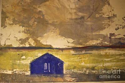 Feeling Blue Art Print by Deborah Talbot - Kostisin