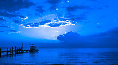 Art Print featuring the photograph Feeling Blue by Phil Abrams