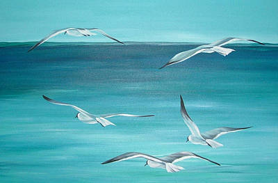 Painting - Feeling Free by Natasha Denger