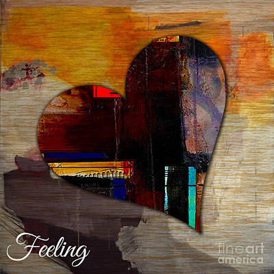 Mixed Media - Feeling by Marvin Blaine