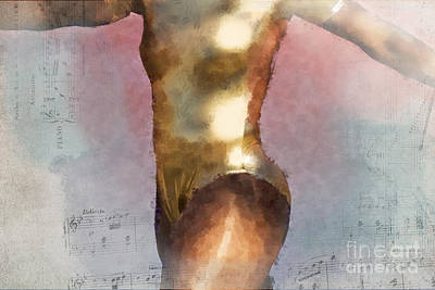 African-american Digital Art - Feeling The Beat by Betty LaRue