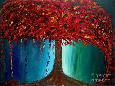 Painting - Feeling Willow by Ania M Milo