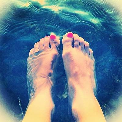 Feet! Art Print