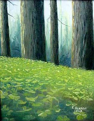 Forest Floor Mixed Media - Feet Of Giants by Kenny Henson