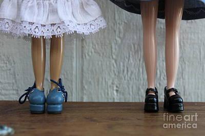 Wall Art - Photograph - Feets by Sara Ricer