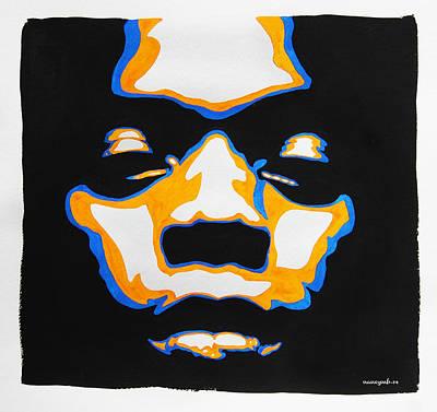 Political Mixed Media - Fela. The First Black President. by Nancy Mergybrower