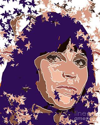 Felecity Jones Art Print by Dalon Ryan