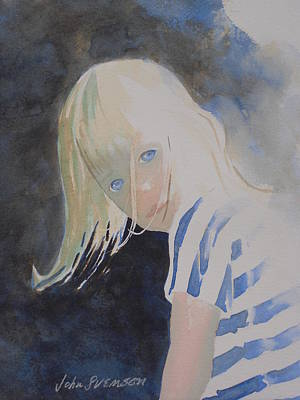 Painting - Felicia by John  Svenson
