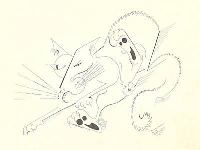 Felis Notsodomesticus Print by Melinda Dare Benfield