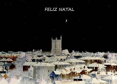 Christmas Photograph - Feliz Natal Christmas Card by Bishopston Fine Art