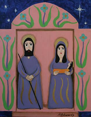 Navidad Painting - Feliz Navidad by Marna Edwards Flavell