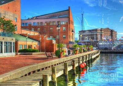 Fells Point Baltimore Maryland Photograph - Fells Point Dock by Debbi Granruth