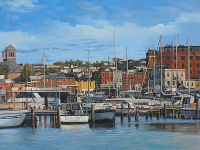 Fells Point On A Lazy Day Original by Steve Wilson