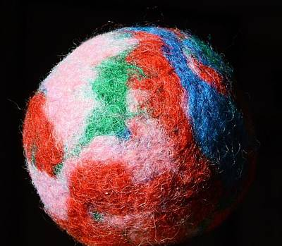 Digital Art - Felted Ball by Aliceann Carlton