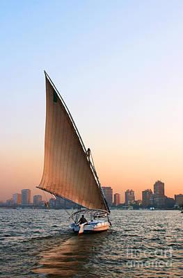 Felucca On The Nile Art Print