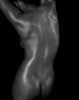 Photograph - Female Back by James Hammond