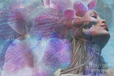 Biochemistry Digital Art - Female Beauty by Michael Volpicelli