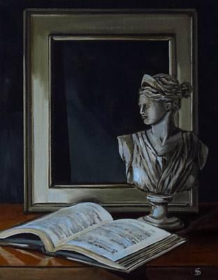 Painting - Artemis by Grace Diehl