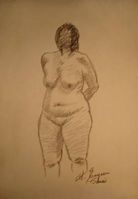Moral Mixed Media - Female Croquis by Genio GgXpress
