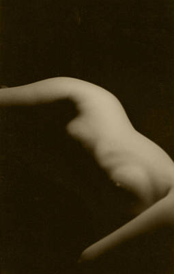 Photograph - Female Nude 1 Sepia by Christine Perry